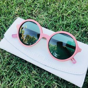 ✨Designer✨Elizabeth&James pink Montgomery glasses